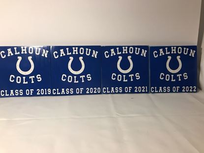 "Picture of Calhoun ""Class of"" Plaque"
